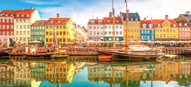 cheap flights from London to Denmark
