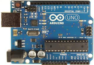 Arduino UNO | Parte delantera