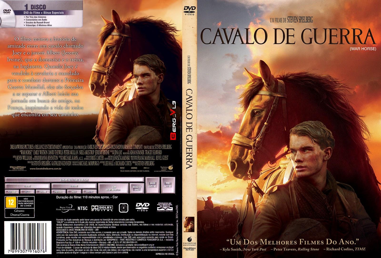 Capas Grátis: Cavalo De Guerra