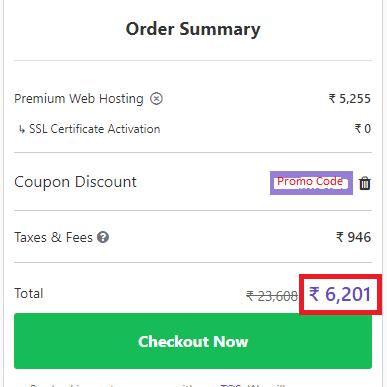Hostinger promo code India