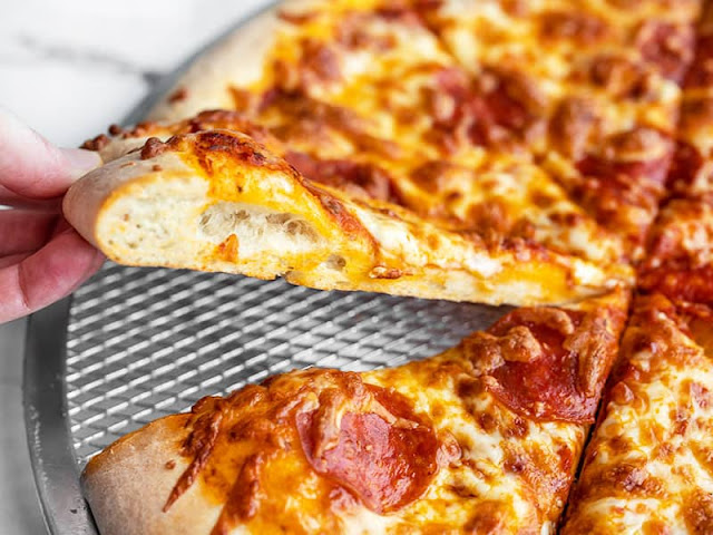 freeze pizza dough easily