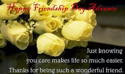 happy friendship day advance sms hindi
