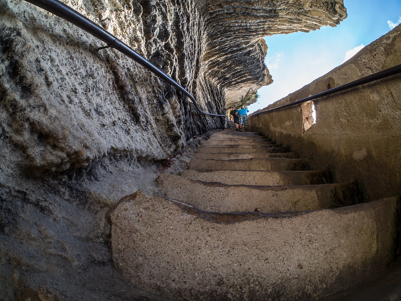 king of aragon,  cliff stairs,  aragon france,  carved staircase,  french staircase,
