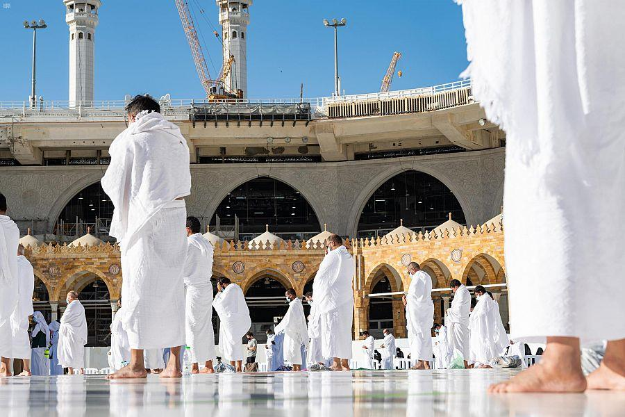 """s Intention To Establish The Rite Of Hajj For The Year   Hajj in addition to Umrah"""" Announces The Kingdom's Intention To Establish The Rite Of Hajj For The Year  2021 (1442 AH )"""