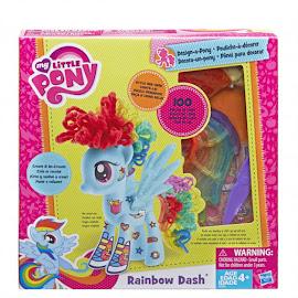 MLP Wave 6 Large Design-a-Pony Rainbow Dash Hasbro POP Pony