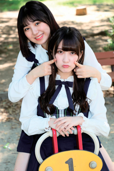 Maya Sugawara 菅原茉椰,  Airi Mizuno 水野愛理, BUBKA 2019年11月号増刊 100%SKE48 Vol.06