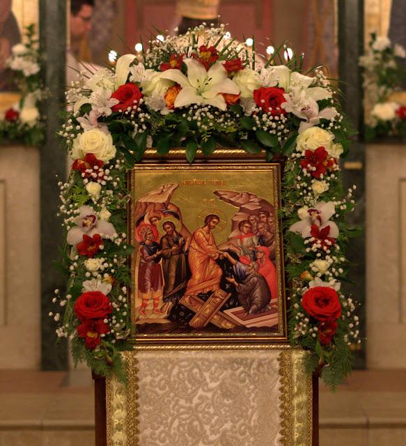 Фоторепортаж Пасхального богослужения в Софийском Свято-Успенском соборе