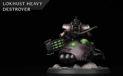 Lokhust Heavy Destroyer
