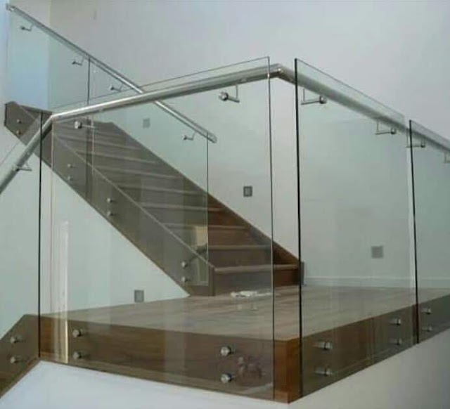 steel railing design for stairs