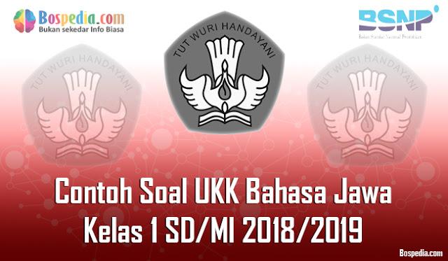 Kesempatan kali ini admin bospedia akan membagikan soal UKK Bahasa Jawa untuk kelas  Lengkap - Contoh Soal UKK Bahasa Jawa Kelas 2 SD/MI 2018/2019