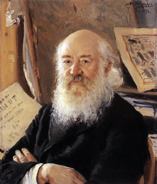 Маковский Владимир Егорович - Портрет Д.А.Ровинского. 1894
