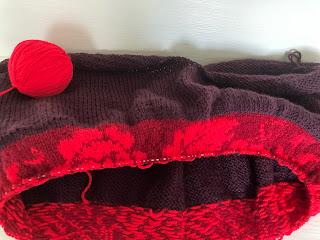 fair isle knitting breien roos