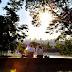 Caldo de cana, pôr do sol e Poty Lazzarotto na Praça das Nações