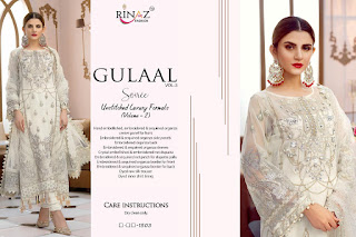 Rinaz Fashion Gulal Vol 3 Pakistani Suits In Wholesale Rate at Diwan fashion Surat