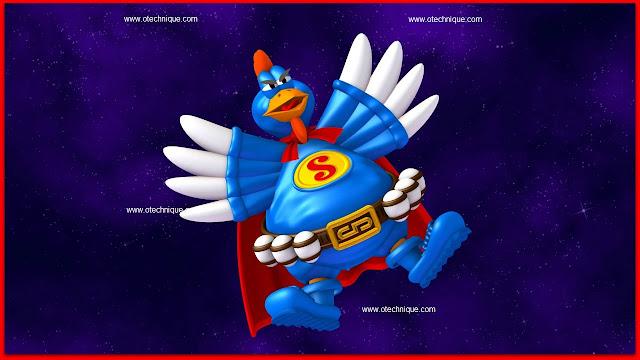 لعبة  الفراخ في الفضاء chicken invaders الرائعة
