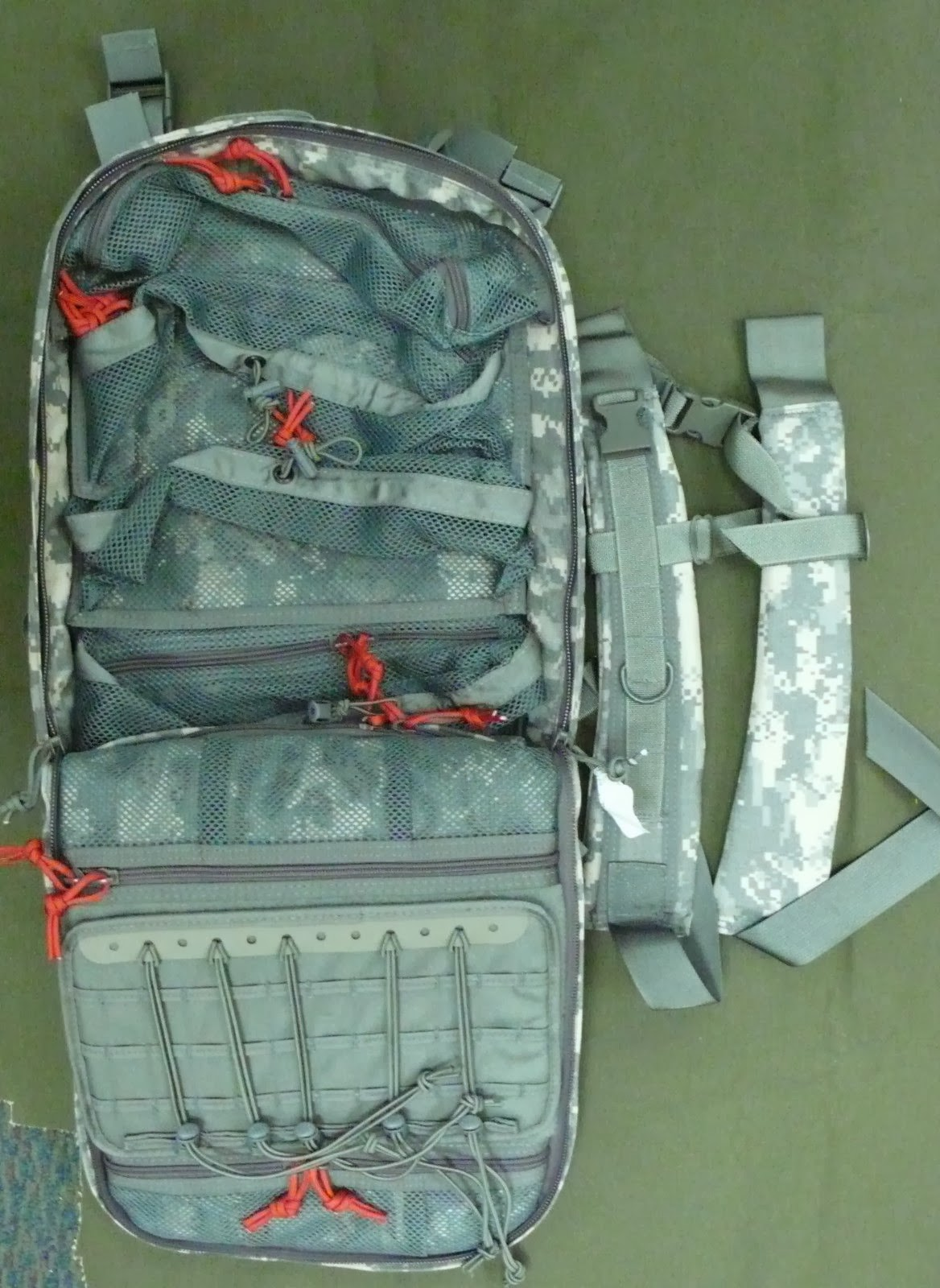 Webbingbabel M9 Assault Medical Backpack