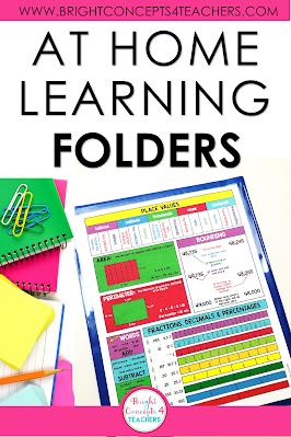 take home folders