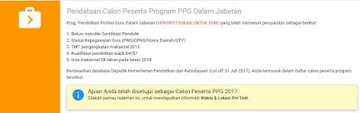 Pengajuan PPG disetujui LPMP