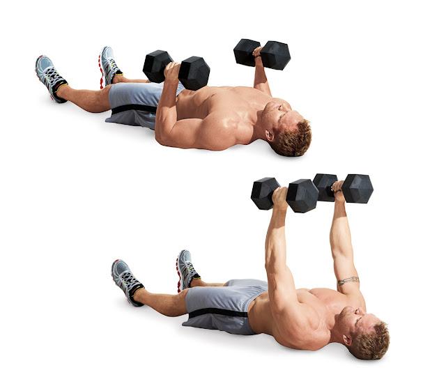 Dumbbell Exercises For Chest