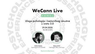 http://www.advertiser-serbia.com/uloga-psihologije-i-korisnickog-iskustva-u-svetu-2-0-sreda-u-16h-wecann-live-panel/