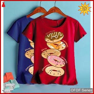 OFDF191 Atasan Kaos Tshirt Tumbler Tee Donatella BMGShop