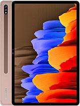 Galaxy Tab S7+ Battery Size