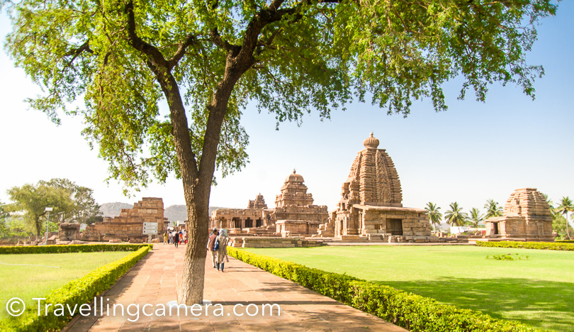 All common rules of Compositions apply to Architecture Photography as well, so be ware of that to make best use. For example, above photograph shows tree as framing elements fo the temples in the photograph. Above photograph is clicked from entry gate of Pattadakal Temples in South India.