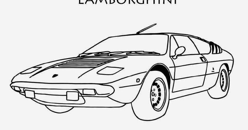 coloriage de voiture de course lamborghini coloriage voiture. Black Bedroom Furniture Sets. Home Design Ideas
