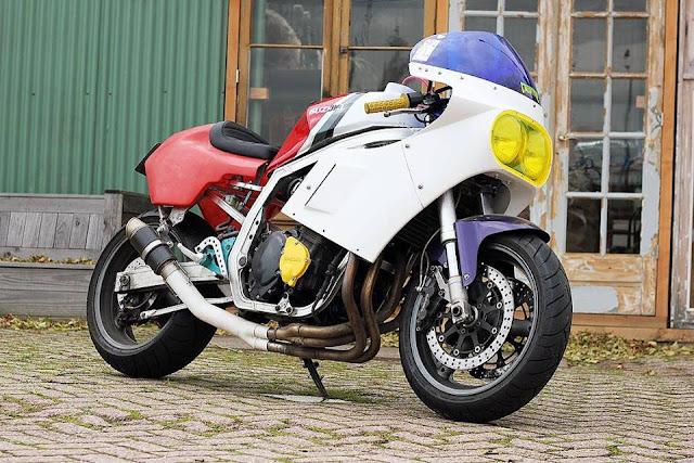 Cool Kid Customs - Suzuki GSXR Slabside