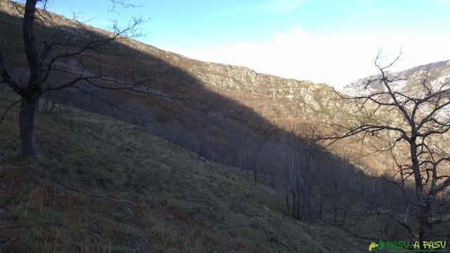 Camperas en la salida del Sedo Vibolines hacia Casielles