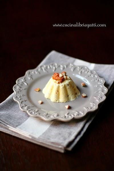 semifreddo mandorlato parfait mandorle ricetta bavarese