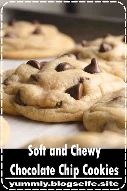 These cookies are the best soft and chewy chocolate chip cookies ever! They are easy to make and you will be blown away at how delicious they are! #chewy #soft #chocolate #chip #cookies #recipe