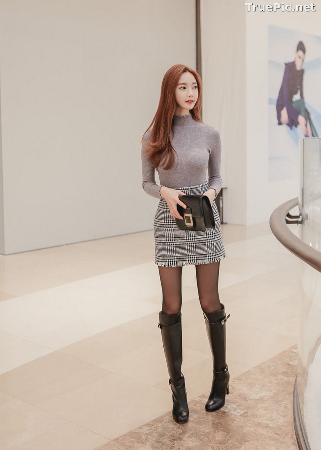 Image Korean Fashion Model – Hyemi – Office Dress Collection #2 - TruePic.net - Picture-10