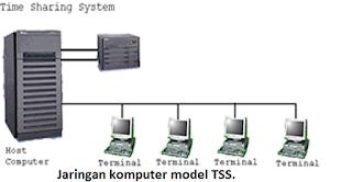 Jaringan komputer model TSS