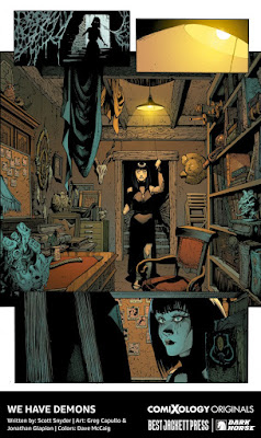 ComiXology and Scott Snyder's Best Jacket We Have Demons