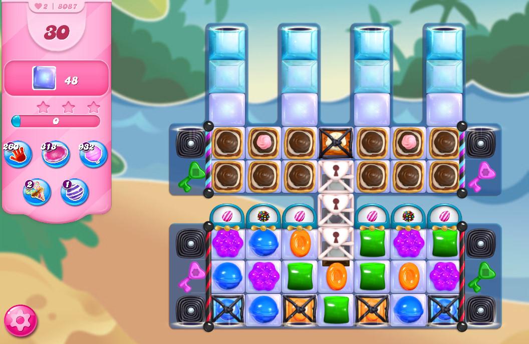 Candy Crush Saga level 8087