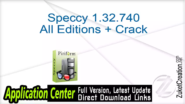 Speccy 1.32.740 All Editions + Crack