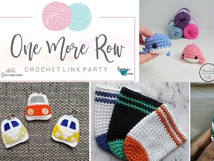 One More Row - Free Crochet Link Party #20