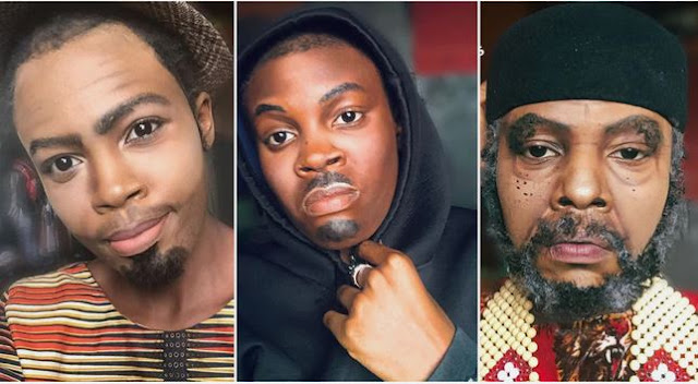 Nigerian Makeup Up Artist Transforms Herself Into Ramsey Nouah, Pete Edochie, Other Celebrities