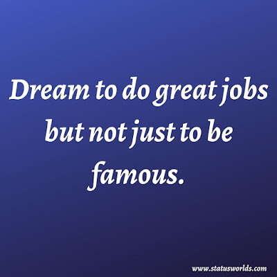 Dream Status, Quotes