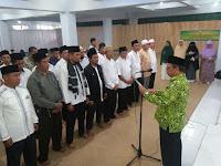 <b>DMI NTB Kukuhkan Pengurus Masjid Agung Al-Muwahiddin Bima</b>