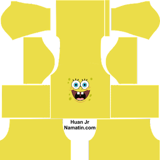 Skin DLS Spongebob