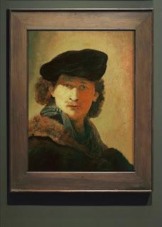 Rembrandt Van Rijn, Copie d'un autoportrait