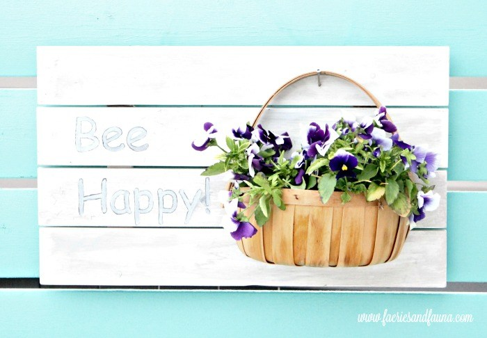 Bee Happy DIY Planter