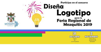 diseño de logo feria mezquitic 2019