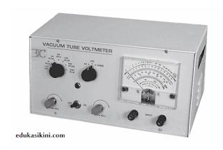 Voltmeter Tabung Vakum (VTVM) dan Field Effect Transistor (FET)
