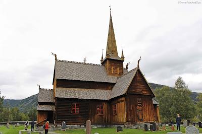 Eglise en bois debout de Lom, Norvège du sud