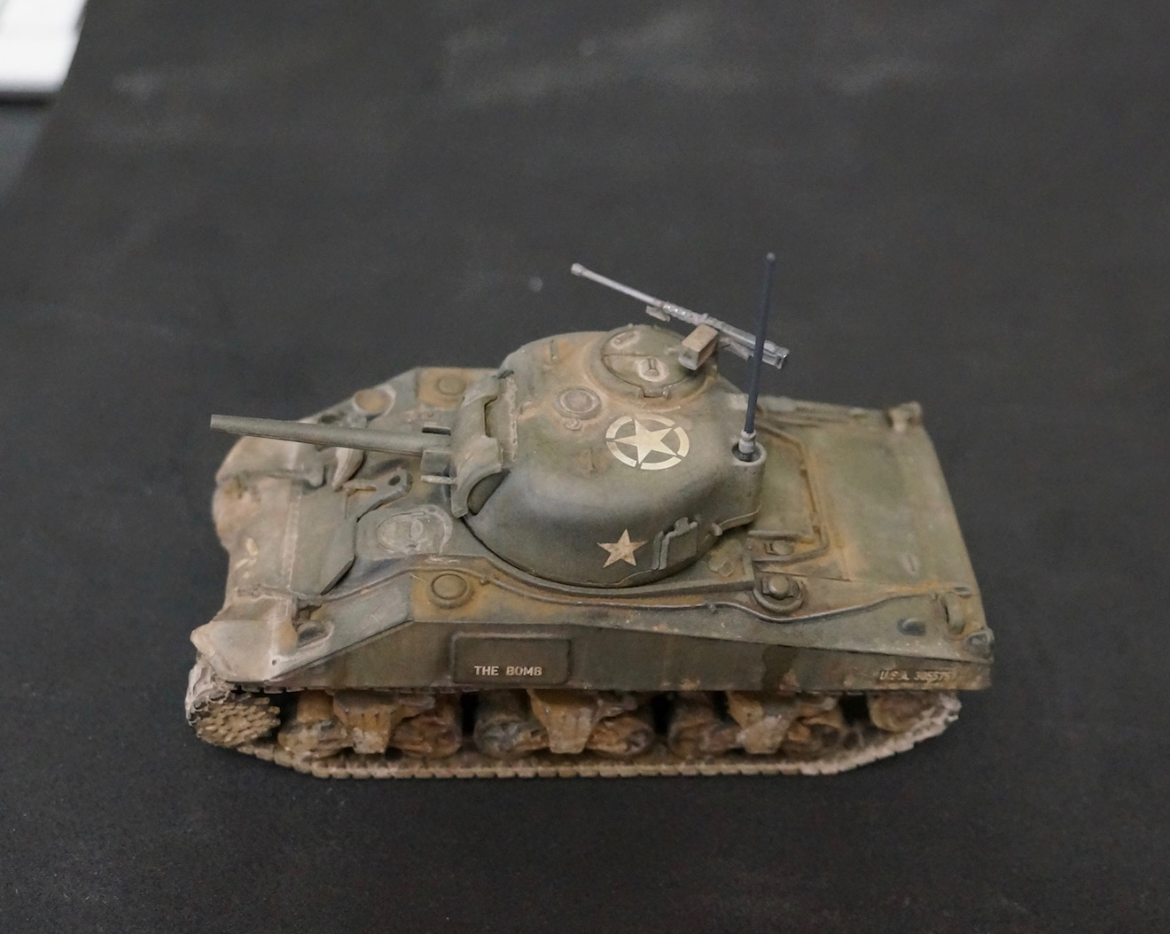 40k Hobby Blog: Bolt Action Sherman Tank eBay Experiment