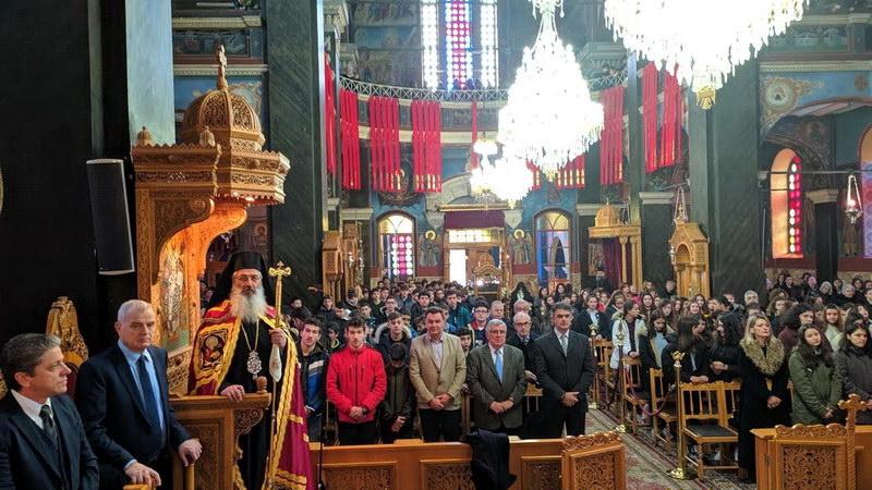 Ο εορτασμός των Τριών Ιεραρχών στη Μητρόπολη Αλεξανδρούπολης