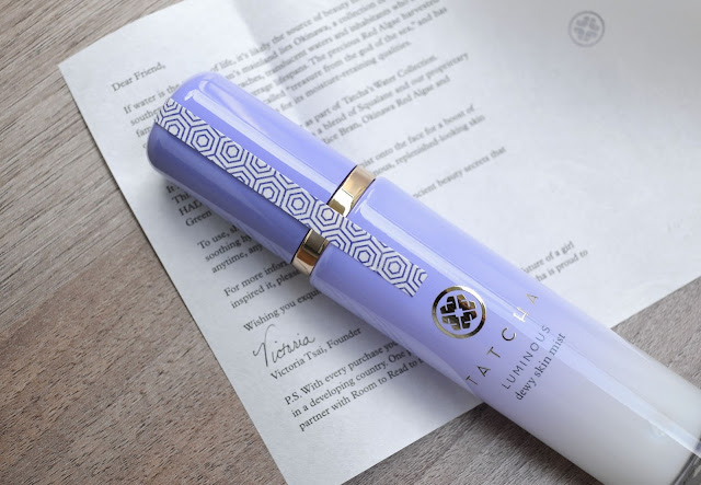 SKINCARE | Tatcha Luminous Dewy Skin Mist Review